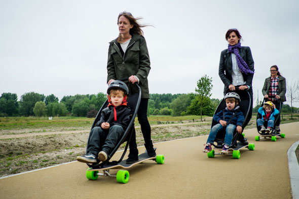 A skate invention for mums in a rush!