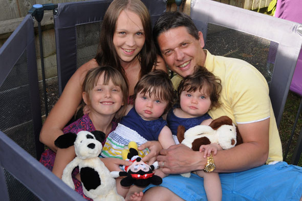 Cancer mum was so radioactive she couldn't cuddle kids