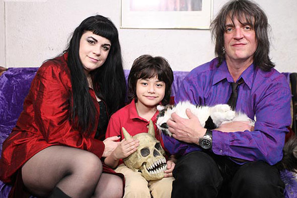 Vampire mum: Mother of two drinks human blood - much to her kids' horror