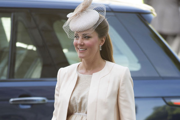 Duchess of Cambridge to go on maternity leave next Friday