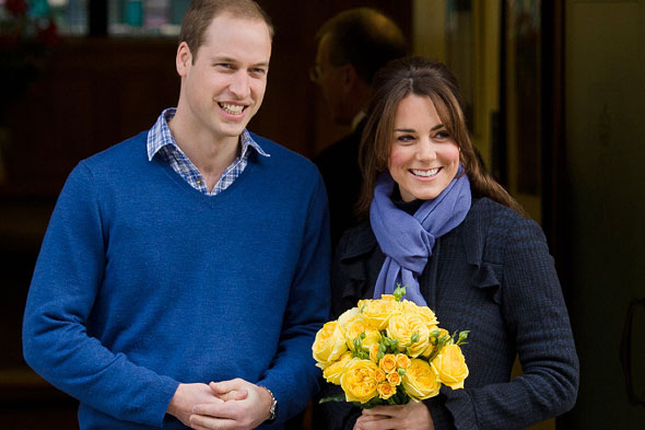 Royal baby due: Kate spends due date with her parents - and William plays polo!