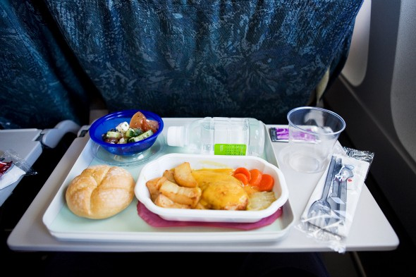 Give us Back our Free Inedible Inflight Meals