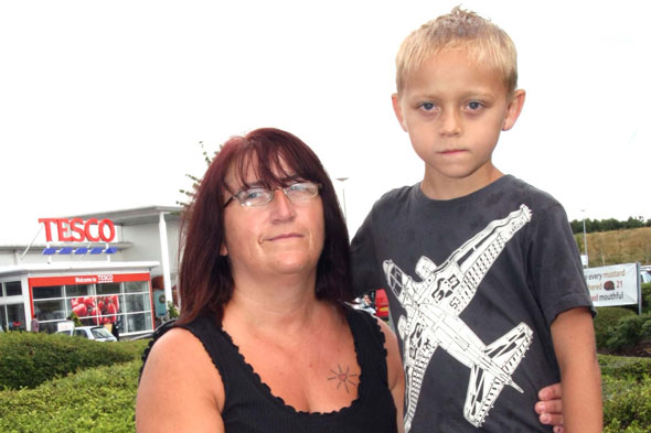 Mum's dismay as bare-chested six-year-old son told to leave Tesco