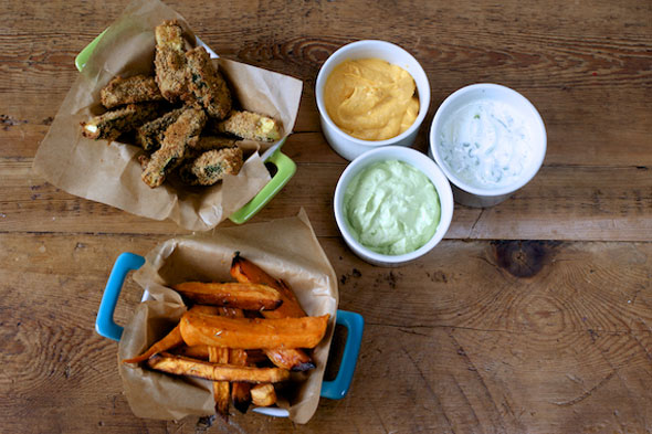 Weaning recipe: Dips and dippers