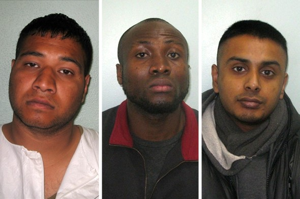 Laughing gang jailed for 44 years for acid attack on mum and twins