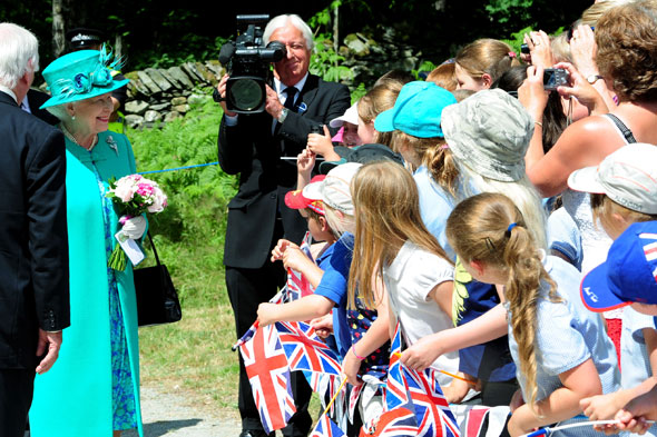 Royal baby due: The Queen tells baby Cambridge to hurry up - she wants a holiday!