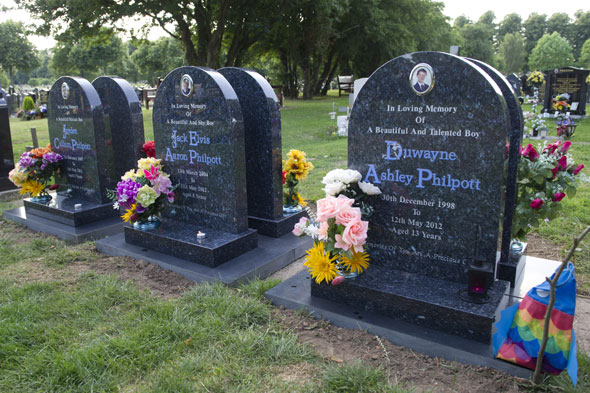 Dead Philpott children finally remembered on headstones