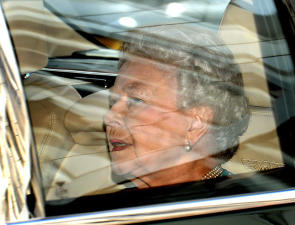 'Thrilled' Queen meets great-grandson Baby Cambridge for the first time