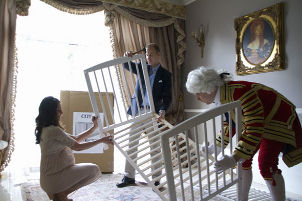 Royal baby news: The final countdown - as imagined by Kate and Wills lookalieks
