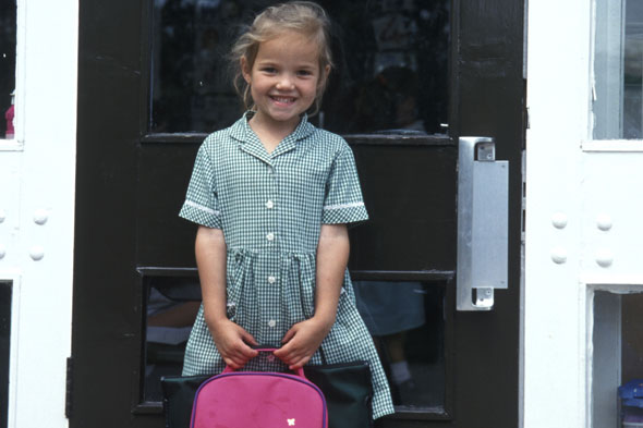 Starting school fears (mine not my child's)