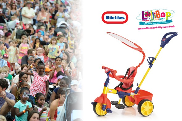 WIN a 4-in-1 Little Tikes Trike and family ticket to LolliBop!