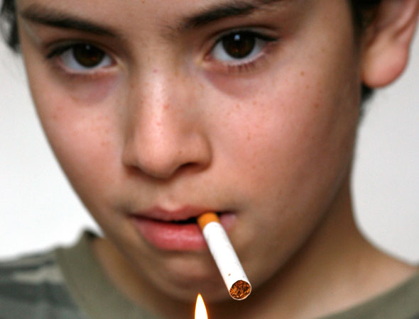 The Reluctant House Dad: What happened when I confronted an eight-year-old SMOKING in the street