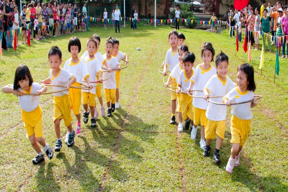 Should school sports day be competitive?