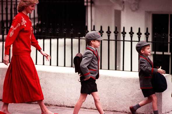 Pictures: Royal children at school