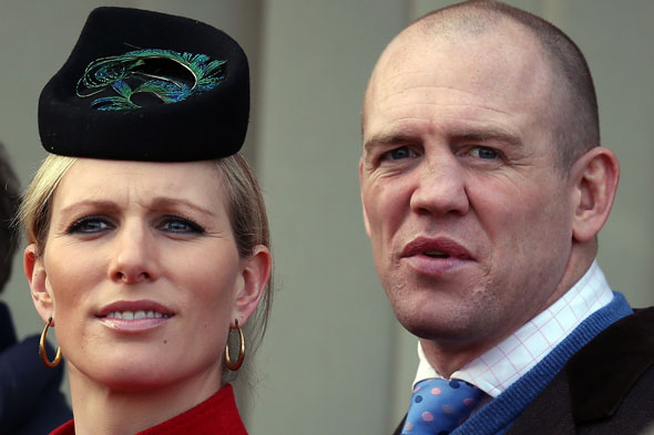 Pregnant Zara Phillips quits show jumping - two days after vowing to carry on riding