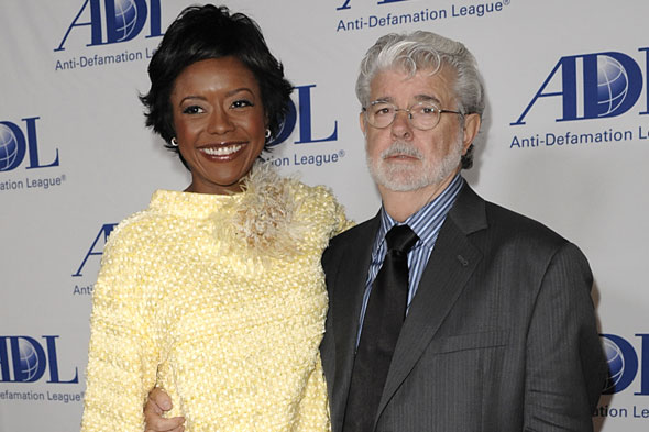 Star Wars George Lucas becomes a dad again at 69
