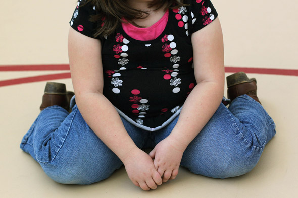 Britain's most overweight child: Girl, 10, weighs nearly 25 stone