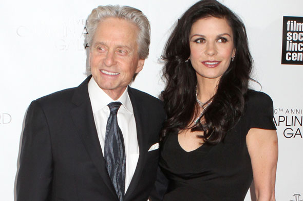 Catherine Zeta Jones and Michael Douglas separate