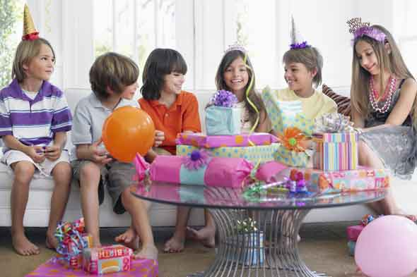 Kids' parties: Jelly and ice cream with a £70k price tag