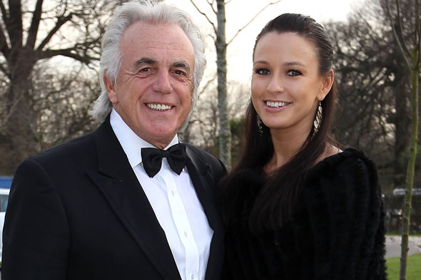 Peter Stringfellow becomes a dad again - at the age of 72