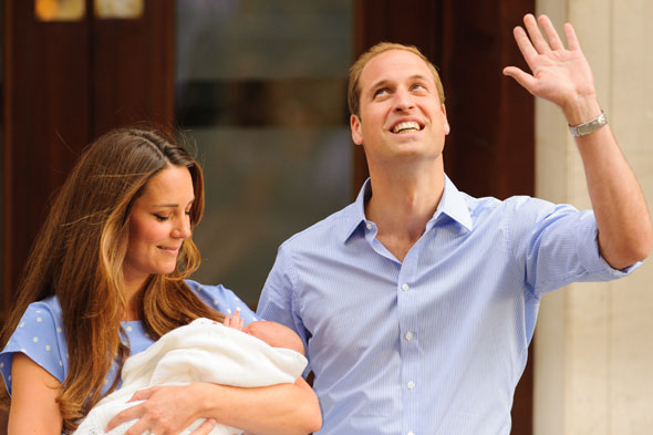 Royal baby gifts leave palace staff 'struggling'