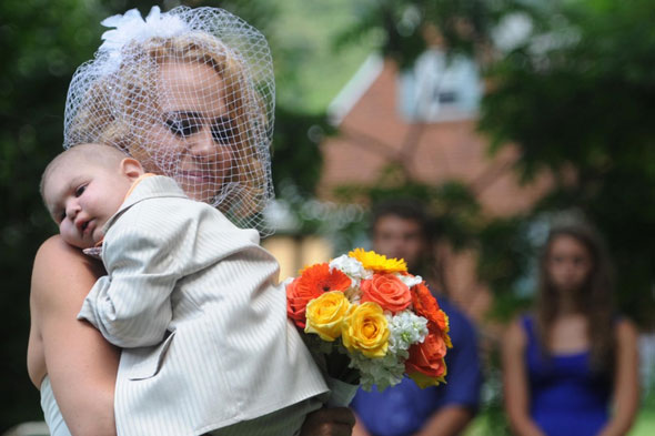 Two-year-old dies just days after being best man at his parents' wedding