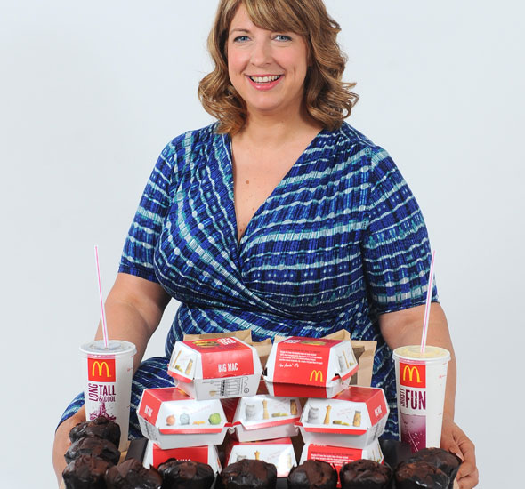 Unhappy mum spent £11,000 on fast food and ballooned to 22 stone