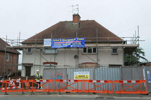 Philpott house demolished: Family home where six children died is knocked down