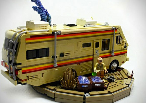Breaking Bad drugs den for sale - as a Lego-style kit for kids