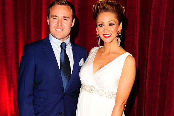 Coronation Street couple Lucy-Jo and Alan Halsall reveal baby's name