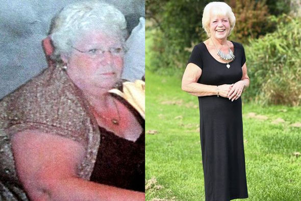 Gran loses 9 stone after being told she wouldn't live to see her four grandkids grow up