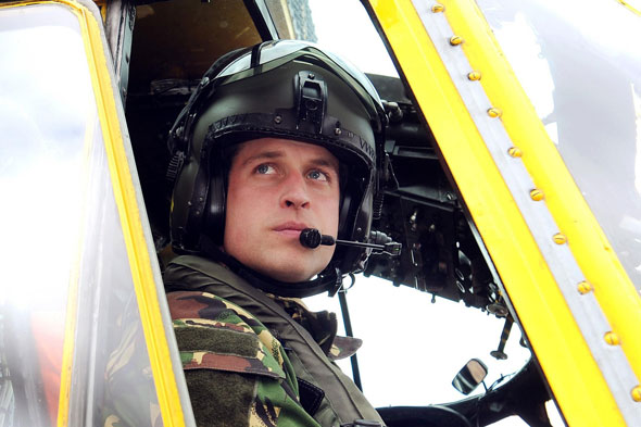 The Duke of Cambridge leaves the RAF: William, Kate and George moving to London