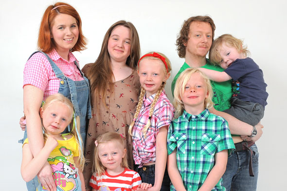 Britain's biggest pageant family: Mum enters all six children in contests