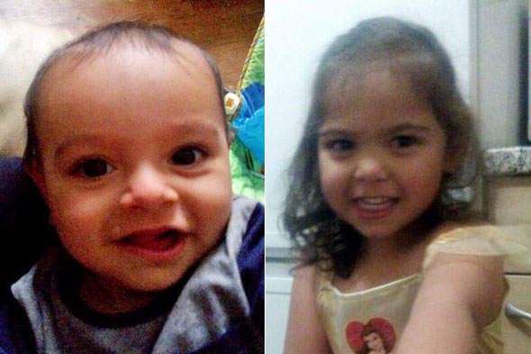 Dad and grandmother arrested for kidnap of two toddlers