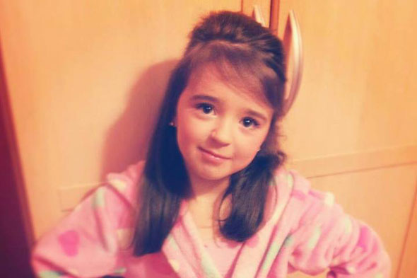 Schoolgirl, 8, mauled by two bulldogs may not walk again