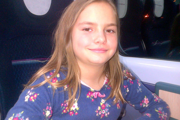 Brother's desperate fight to save sister, 10, who died after crashing into a tree while ski-ing