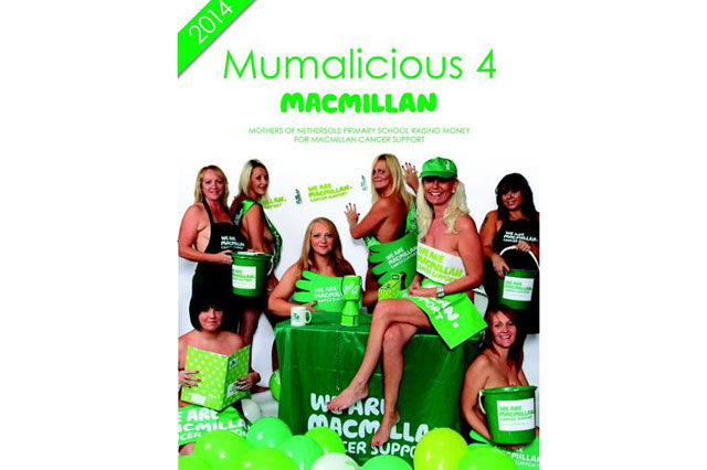 Primary school mums strip off Calendar Girls-style for charity