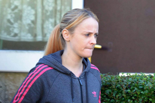 Mum of four was drunk at the wheel the day AFTER a party