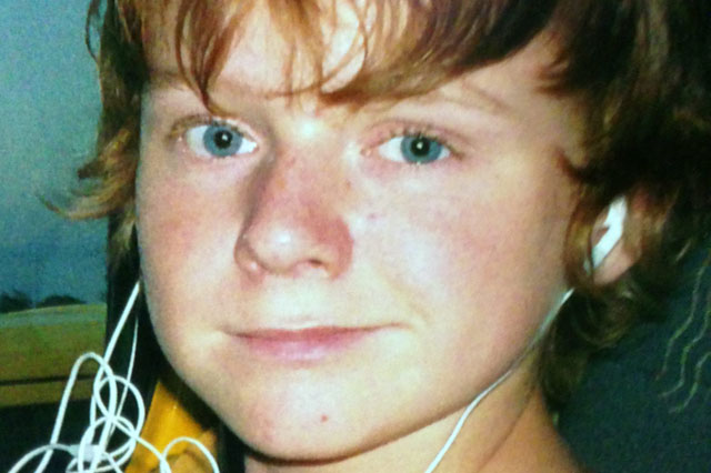 Teased boy who dyed his ginger hair brown found hanged by his father