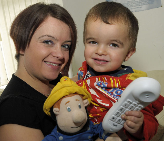 Police respond to toddler's 999 call to speak to Fireman Sam