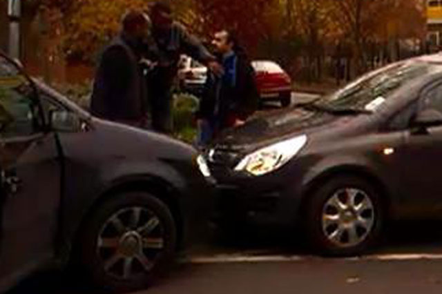Police patrol school run after parents' punch-up over parking