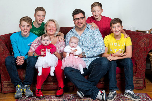 Mum defies odds of 500,000-to-one to have THIRD set of twins