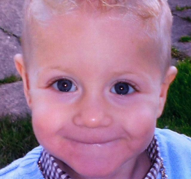 'Cheeky little smile' of toddler killed by hit-and-run driver while walking with mum