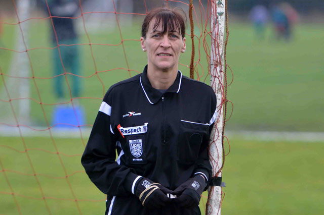 Mum football referee quits after being spat at by abusive parents