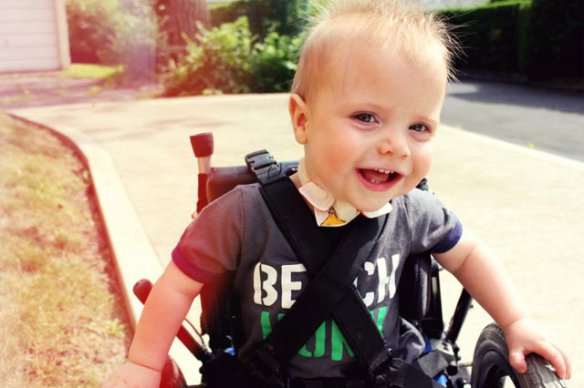 My son's disability doesn't make me a 'special kind of person'