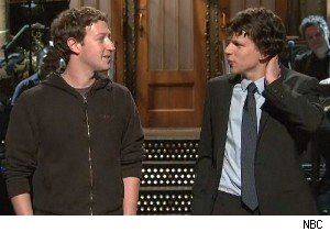 Mark Zuckerberg on Saturday Night Live