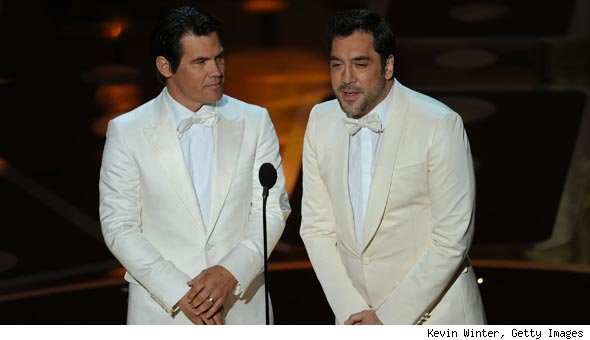 Did Javier Bardem and Josh Brolin Have a Party to Cater After the Oscars?