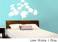 Love Sticky wall decals