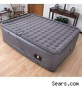 air mattress, inflatable bed, guest room, guest beds