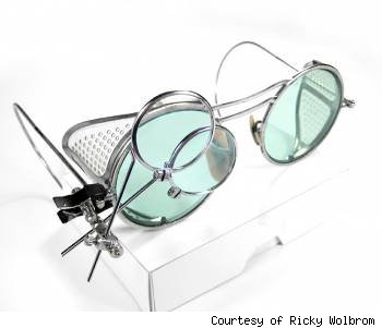 edm designs, ricky wolbrom, steampunk goggles